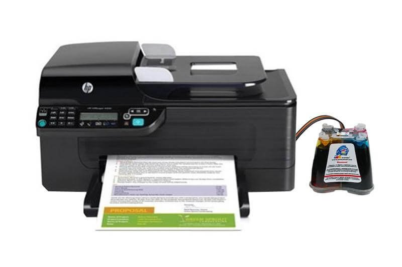 МФУ HP OfficeJet 4500 WL с СНПЧ