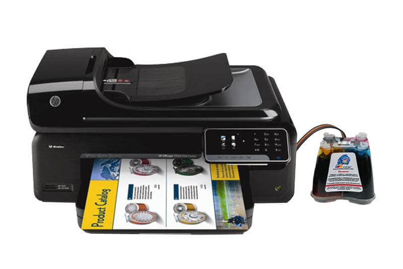 МФУ HP OfficeJet 7500A с СНПЧ