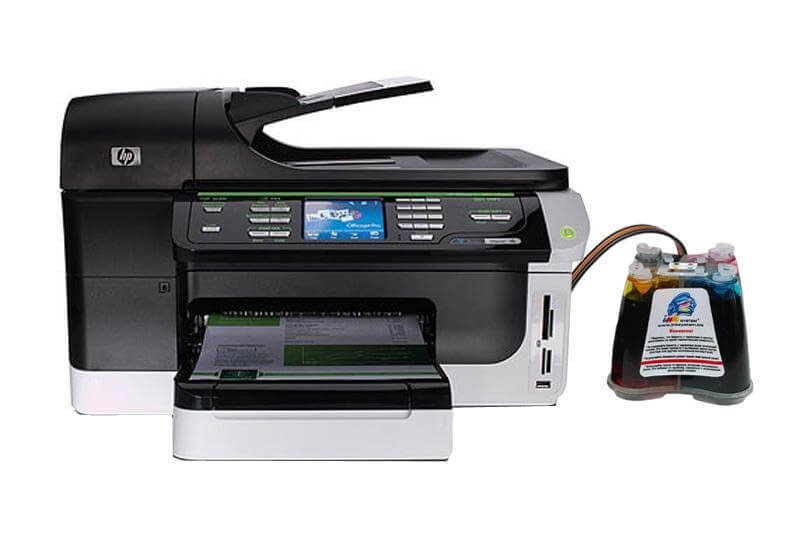 МФУ HP OfficeJet 8500A с СНПЧ