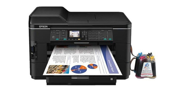 МФУ Epson WorkForce WF-7525 фото