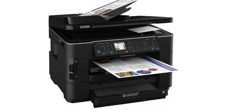 МФУ Epson WorkForce WF-7525 2