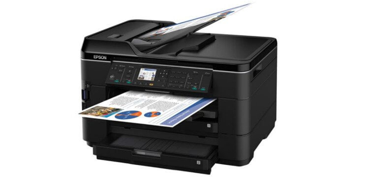 МФУ Epson WorkForce WF-7525 5