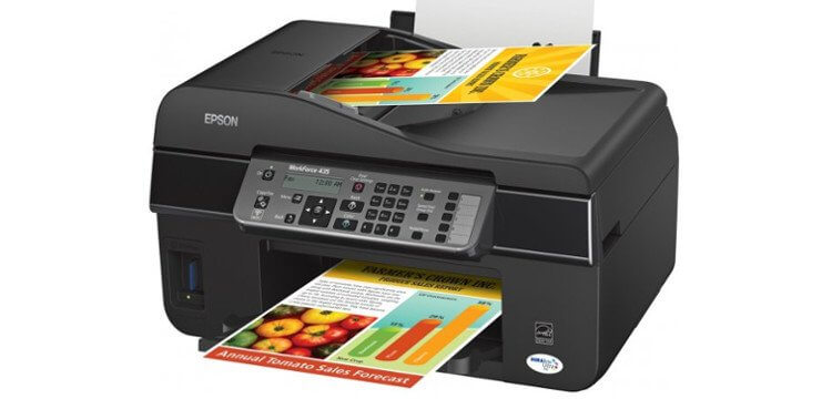 МФУ Epson WorkForce 435 3