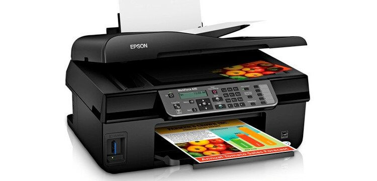 МФУ Epson WorkForce 435 4