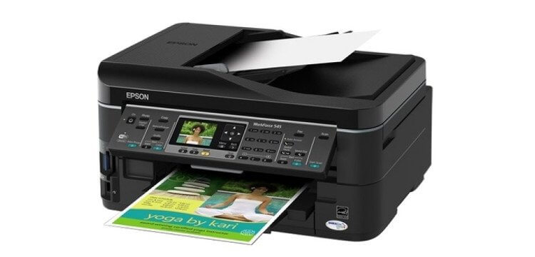 МФУ Epson WorkForce 545 5