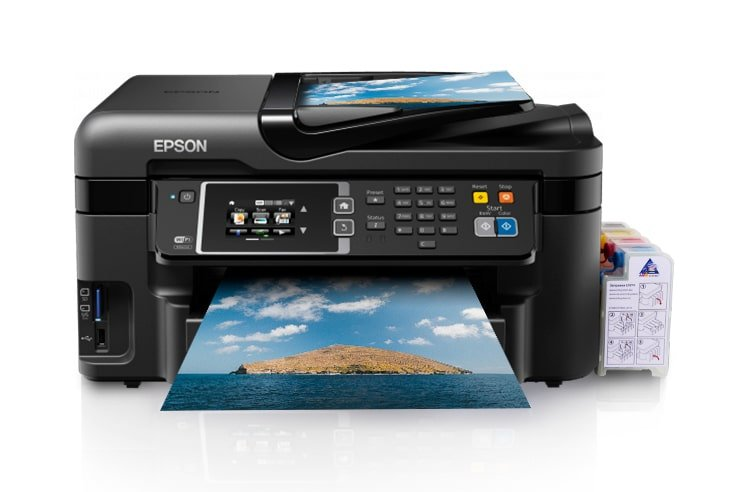 МФУ Epson Workforce WF-3620DWF Refurbished 5