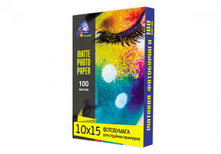 фото Матовая фотобумага INKSYSTEM Matte Photo Paper 230g, 10x15, 100 листов