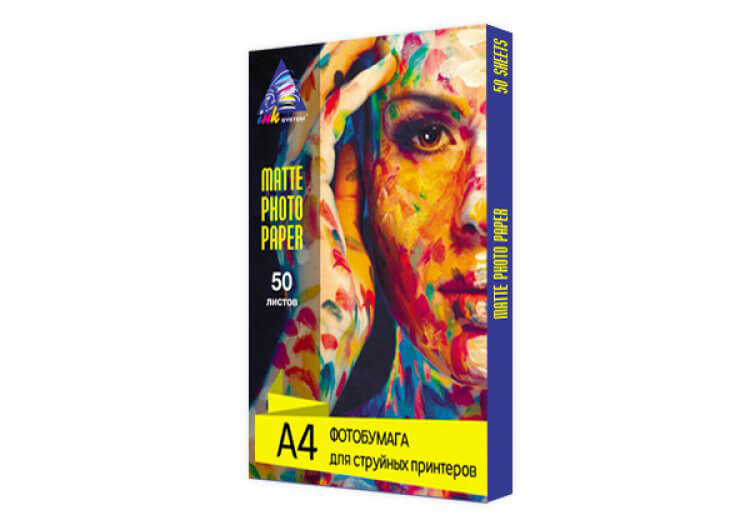 фото Матовая фотобумага INKSYSTEM Matte Photo Paper 230g, A4, 50 листов