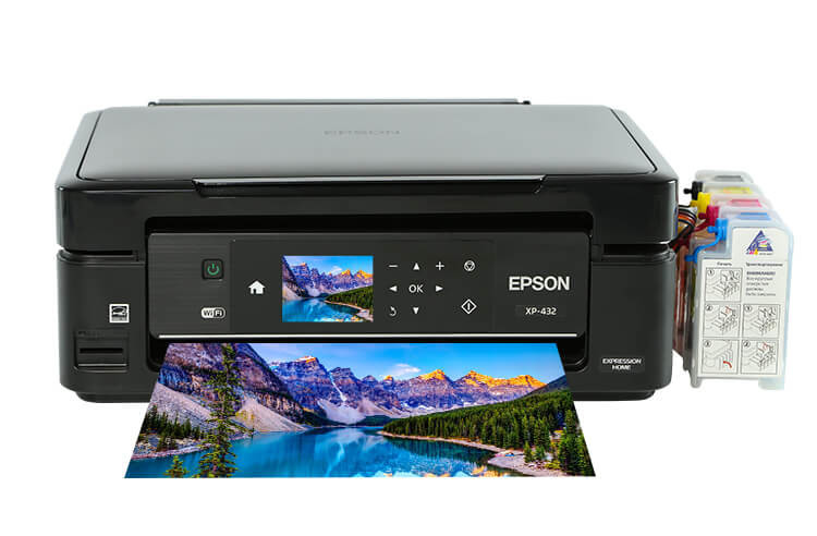 МФУ Epson Expression Home XP-432 3