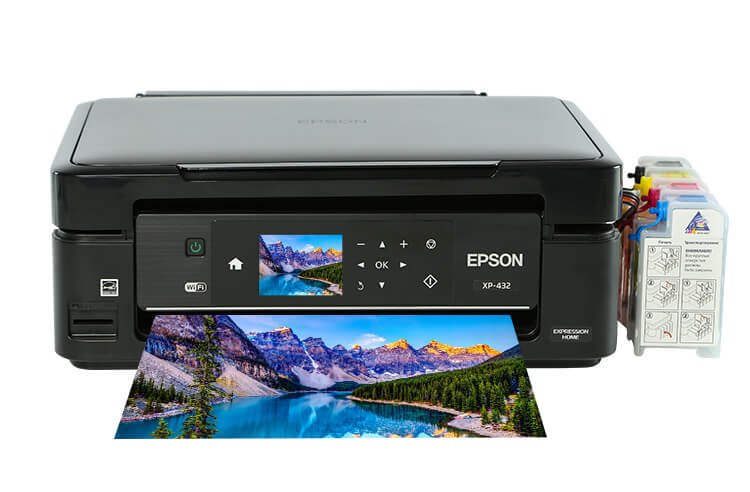 Epson Expression Home XP-432 МФУ с СНПЧ