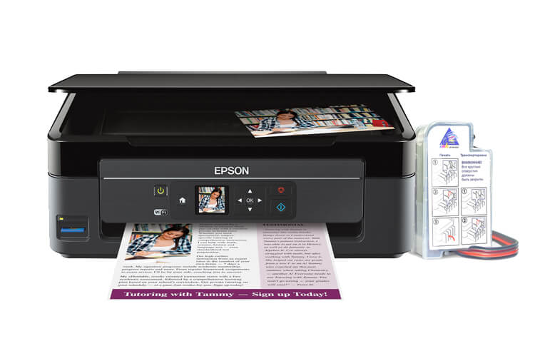 Epson Expression Home XP-340 МФУ с СНПЧ
