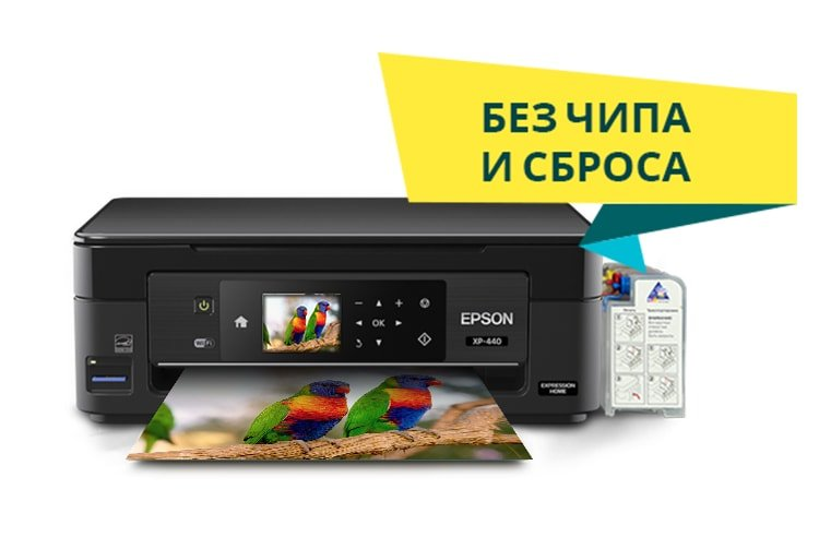 Epson Expression Home XP-440 МФУ с СНПЧ