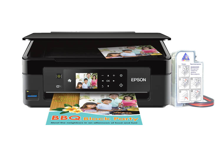 МФУ Epson Expression Home XP-440 3