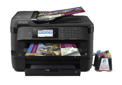 МФУ Epson WorkForce WF-7720DTWF с СНПЧ