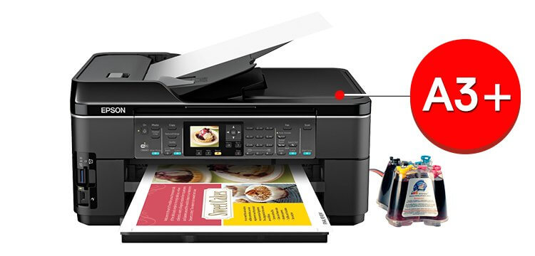 МФУ Epson WorkForce WF-7510 5