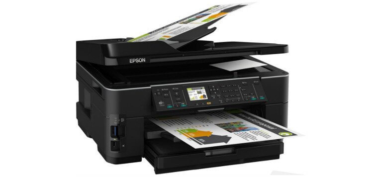 МФУ Epson WorkForce WF-7510 2