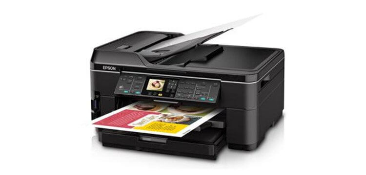 МФУ Epson WorkForce WF-7510 1