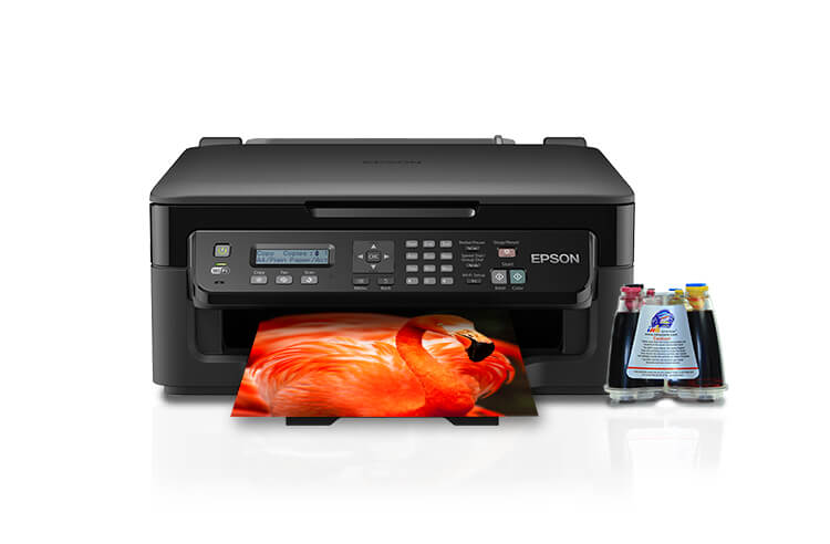 МФУ Epson Workforce WF-2510WF 1