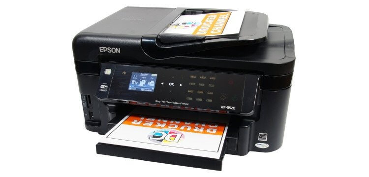 МФУ Epson Workforce WF-3520DWF 3