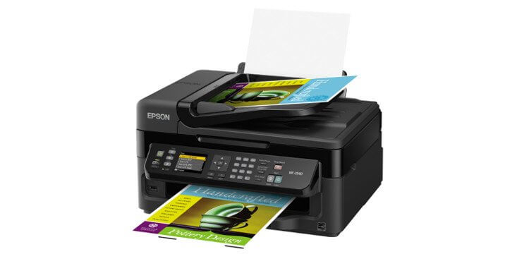 МФУ Epson WorkForce WF-2540 2