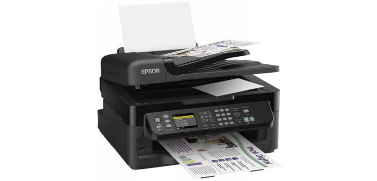 МФУ Epson WorkForce WF-2540 1