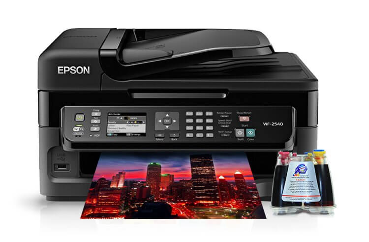 МФУ Epson WorkForce WF-2540 5