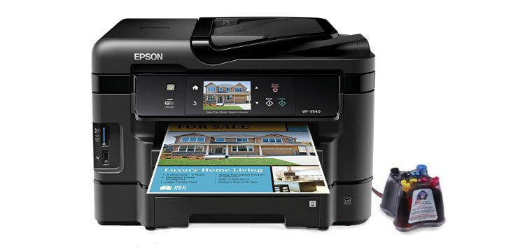МФУ Epson Workforce WF-3540 1