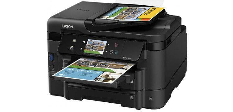 МФУ Epson Workforce WF-3540 2