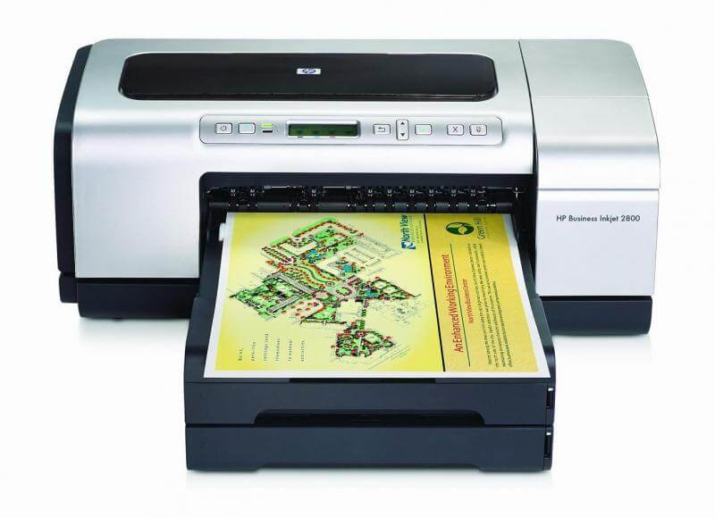 Принтер HP Business InkJet 2800 с СНПЧ