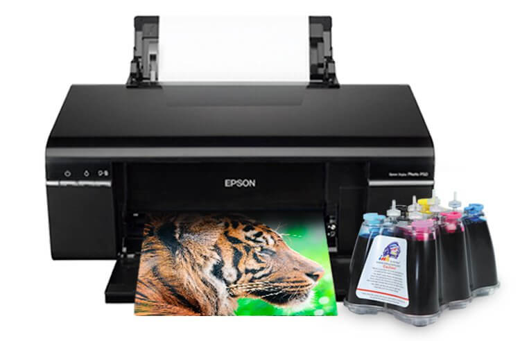 Принтер Epson Stylus Photo P50 с СНПЧ
