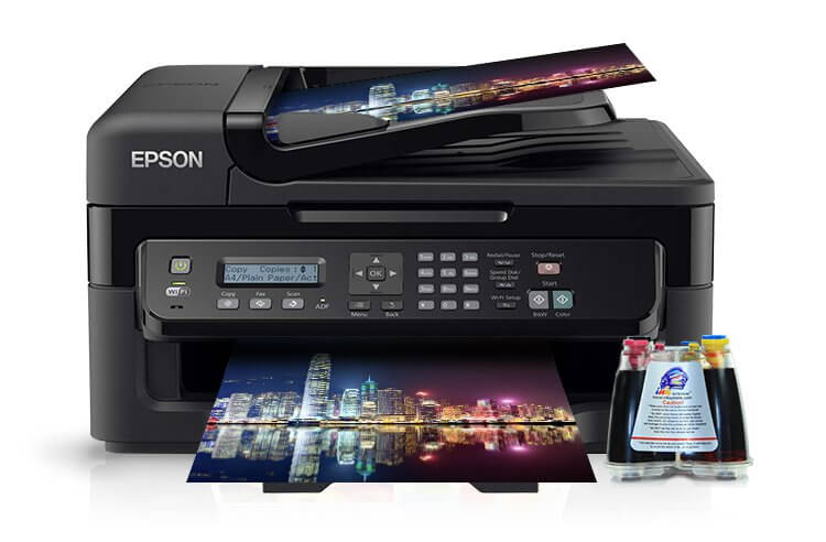 МФУ Epson WorkForce WF-2530WF Refurbished фото