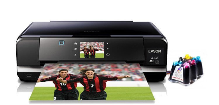 МФУ Epson Expression Photo XP-950 с СНПЧ