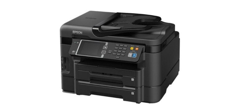 МФУ Epson Workforce WF-3640DTWF 1