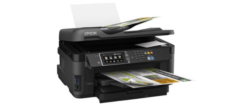 МФУ Epson WorkForce WF-7610DWF 3