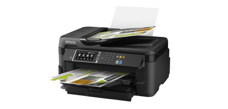 МФУ Epson WorkForce WF-7610DWF 2