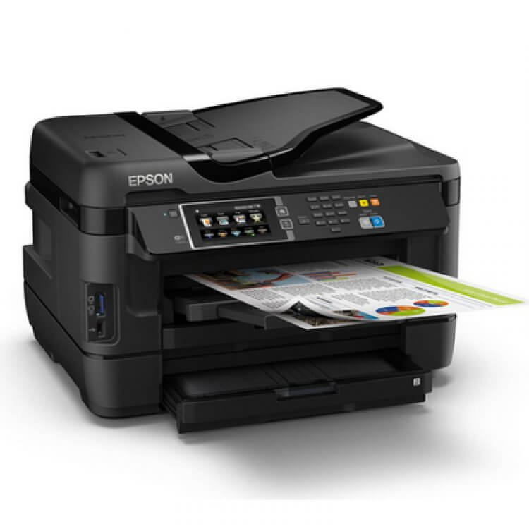 МФУ Epson WorkForce WF-7620DTWF 2