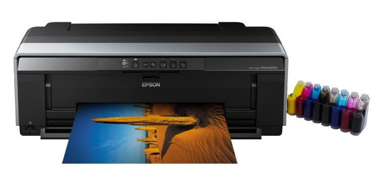 Принтер Epson Stylus Photo R2000 (США) 3