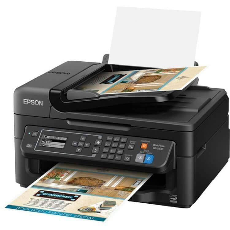 МФУ Epson Workforce WF-2630 3